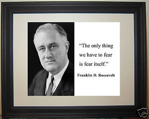 Franklin-Roosevelt-FDR-fear-Quote-Framed-Photo-Picture-ng1