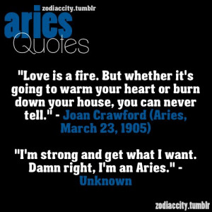 Aries Quotes More aries quotes