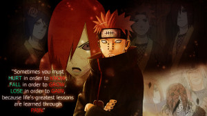 Nagato/Pain's quote Life Lesson by Sasori640