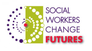 """... Social Work Month theme, """"Social Workers Change Futures"""