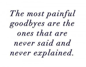 Heartache Quotes painful goodbyes explain