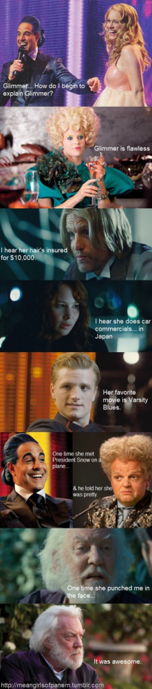 ... To Whoever Thought Up This Hunger Games / Mean Girls Mash-Up Tumblr