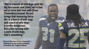 Richard Sherman Had A Great Explanation For Why Kam Chancellor Is So ...