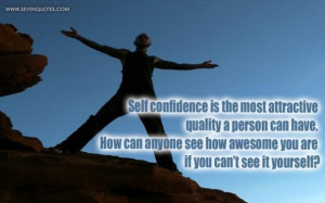 Self confidence picture quotes image sayings