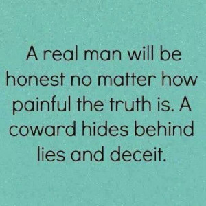 Honesty vs lies and deceit