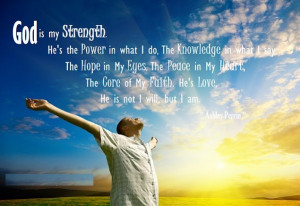 God Is My Strength Quotes