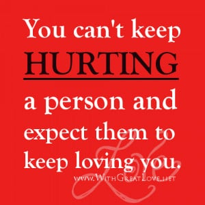 picture quotes about love hurting