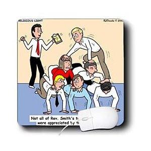 ... Religious Light Cartoons - Pastor Team Building Ideas - Mouse Pads