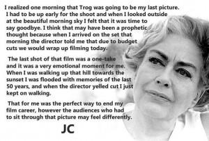 Joan Crawford Talks Trog