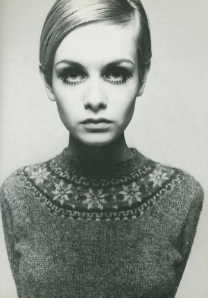 black and white, cute, fashion, greta garbo, twiggy