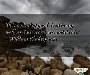 Deeds Quotes
