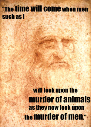 The time will come when men such as I will look upon the murder of ...