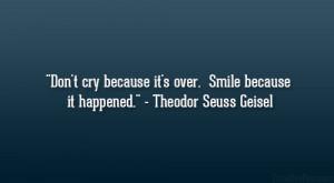 Theodor Seuss Geisel Quote