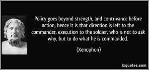 More Xenophon Quotes