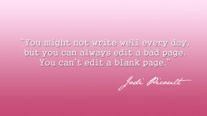Quote Wallpaper - Jodi Picoult - Edit by eablevins