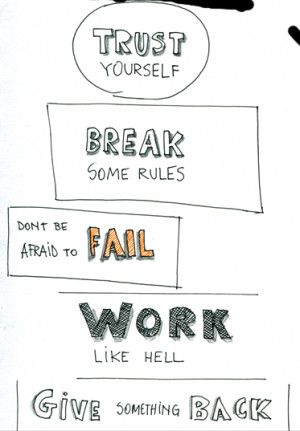 Six Rules on How to Be Successful