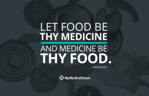 ... every day – it's our preventive medicine. Hippocrates - the