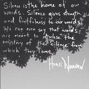 Silence | Henri Nouwen