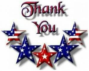 ... to preserving our freedom as a nation. Thank you for your service