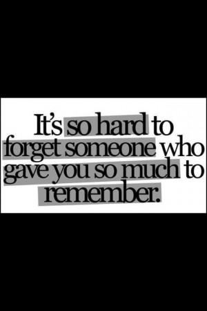 Memories keep u holding on...