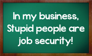 Work Sarcasm Facebook Status On Chalkboard Background