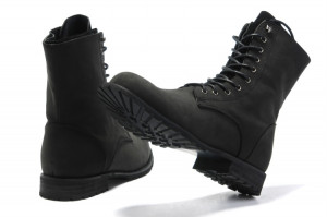 Gallery For gt Black Army Boots For Men