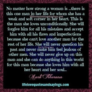 When A Woman Loves A Man...