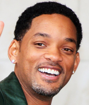Actor Will Smith, likening his lobes to those of Senator Barack Obama ...