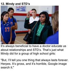 Relationship Quotes from Mindy Lahiri - The Mindy Project (Mindy ...