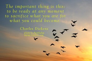 Change quotes – The important thing is this – to be ready at any ...