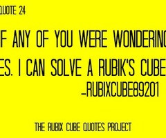 Quotes About Rubik 39 s Cube