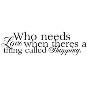 shoppinh quote | Tumblr