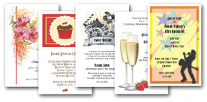 Invitation Wording Ideas, Poems, Sayings & Quotes