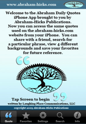 Download Abraham-Hicks Daily Quotes iPhone iOS
