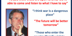 Related Pictures george bush funny