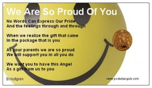 We Are Proud of You Quotes