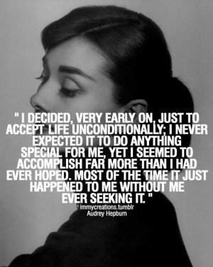 Audrey Hepburn Quotes On Hair | audrey hepburn quotes | Tumblr / Other ...