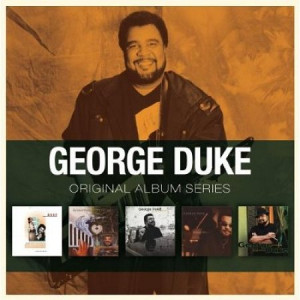 George Duke, Original Album Series, UK, 5-CD album set, Rhino ...