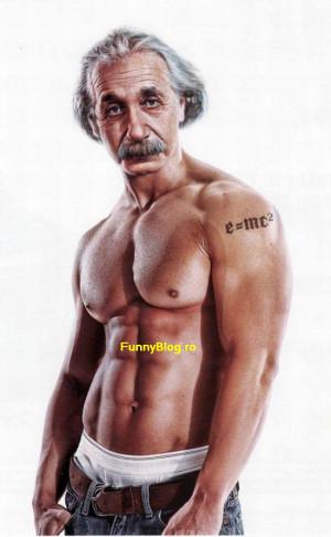 Poza SEXY - Albert Einstein