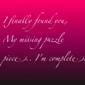Tags: Preschool Puzzle Pieces Quotes Two Puzzle Pieces Love Woman ...