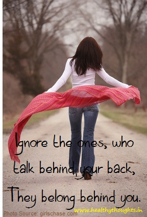 those who talk behind your back quotes