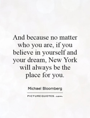 New York Quotes Michael Bloomberg Quotes