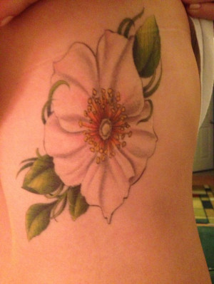 Cherokee Rose Tattoo