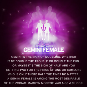 Gemini female