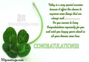 Congratulations Quotes On Success