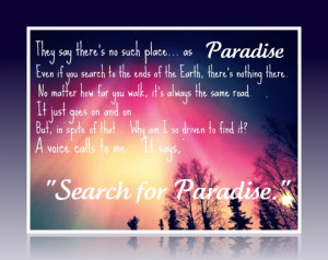 Re: Just another day in paradise