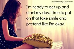 Sad Fake Smile Quotes