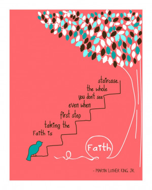 FAITH by Martin Luther King JrInspirational by 7WondersDesign