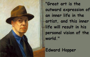 Edward hopper famous quotes 1