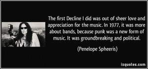 The first Decline I did was out of sheer love and appreciation for the ...